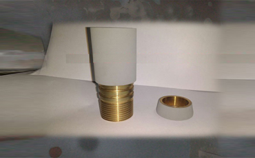 Hvof coating on brass plungers